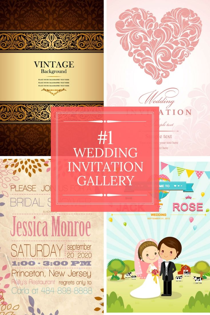 Totally Free Wedding Invitation Cards Samples - Go Preparing For ...