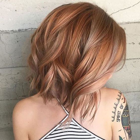 Cute Color And Highlights For Short Hair