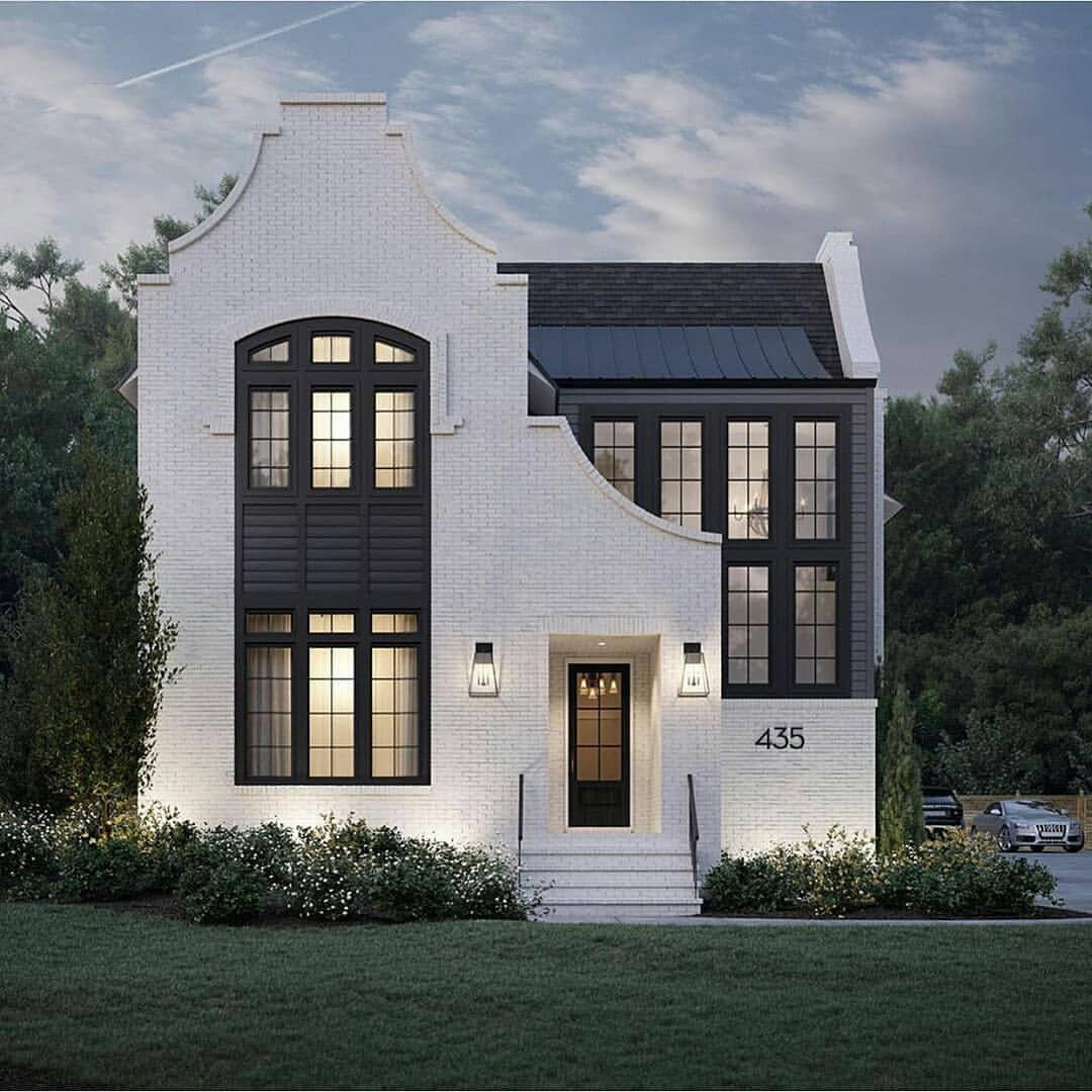 Gorgeous Houses On Instagram 1 2 Or 3 Which Home Is More Your Style Pikeproperties In 2020 House Designs Exterior American Style House Architecture