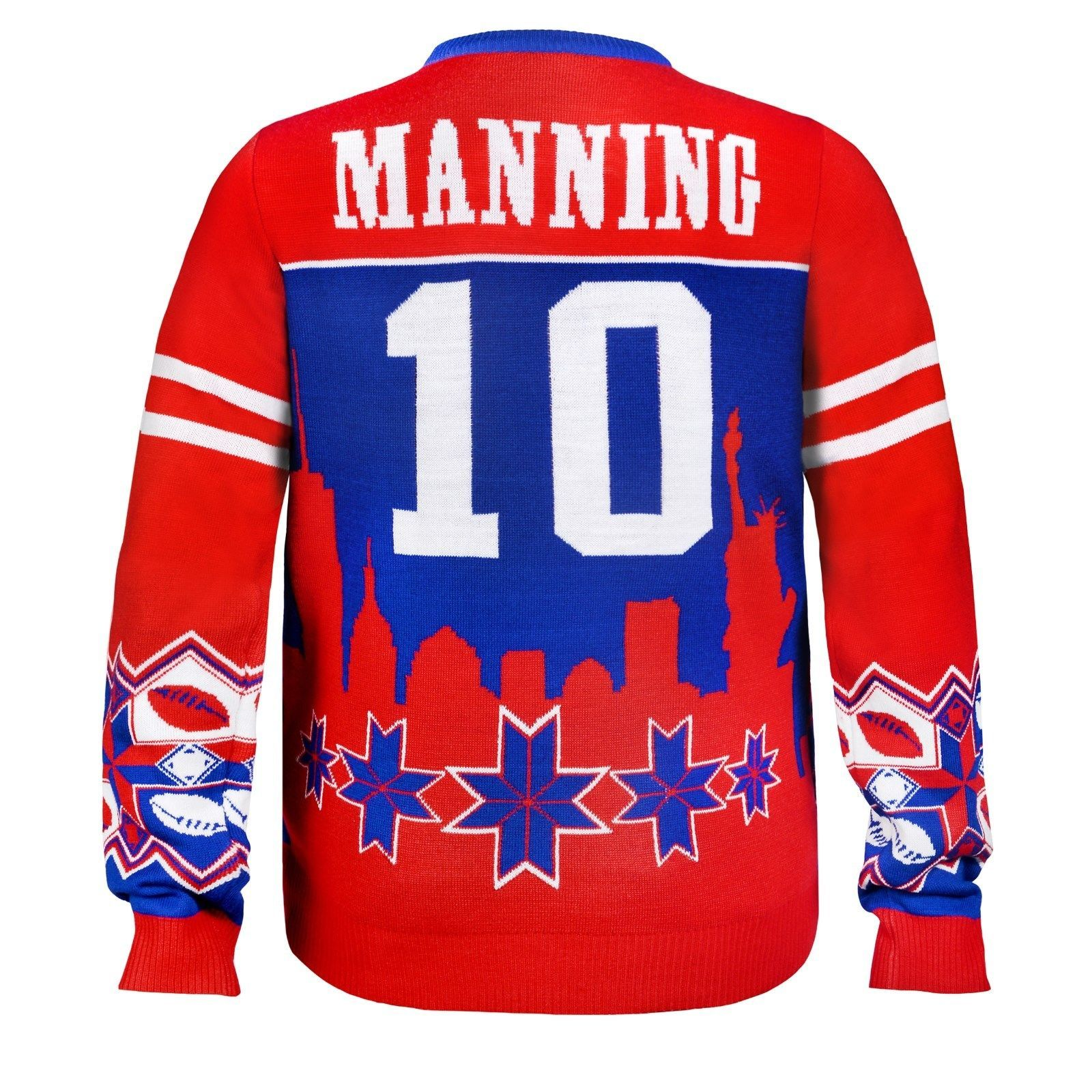 Details about NFL Football Team Logo PLAYER Ugly Sweater - Pick Your ...