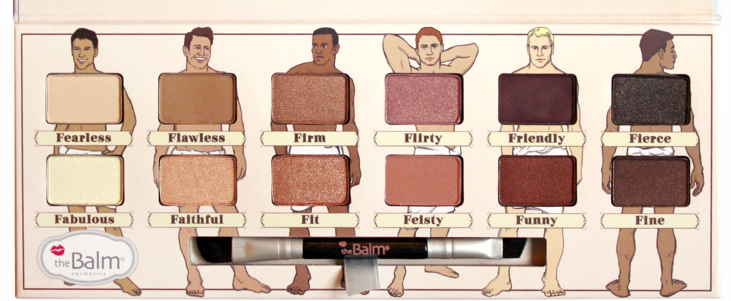 """This Palette Implies Women are """"Selfish"""" and Men Are"""