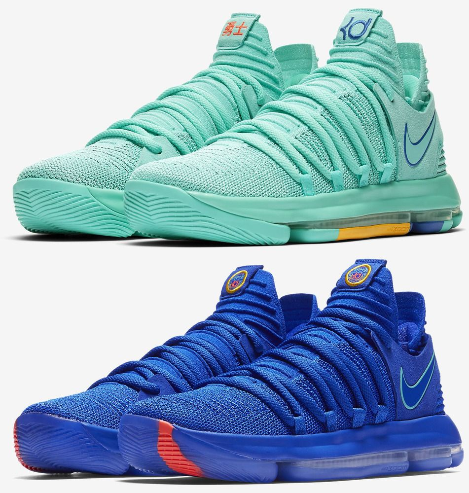 cd288e45ec8 Nike Kevin Durant KD X Basketball Sneakers Men s Lifestyle Shoes ...