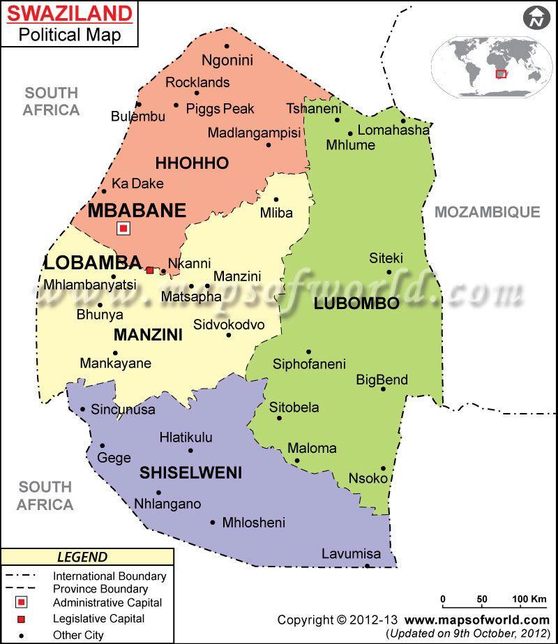 suazilandia mapa Buscar con Google SUAZILANDIASwaziland