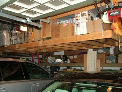 This Overhead Storage Platform Was Built In Less Than A