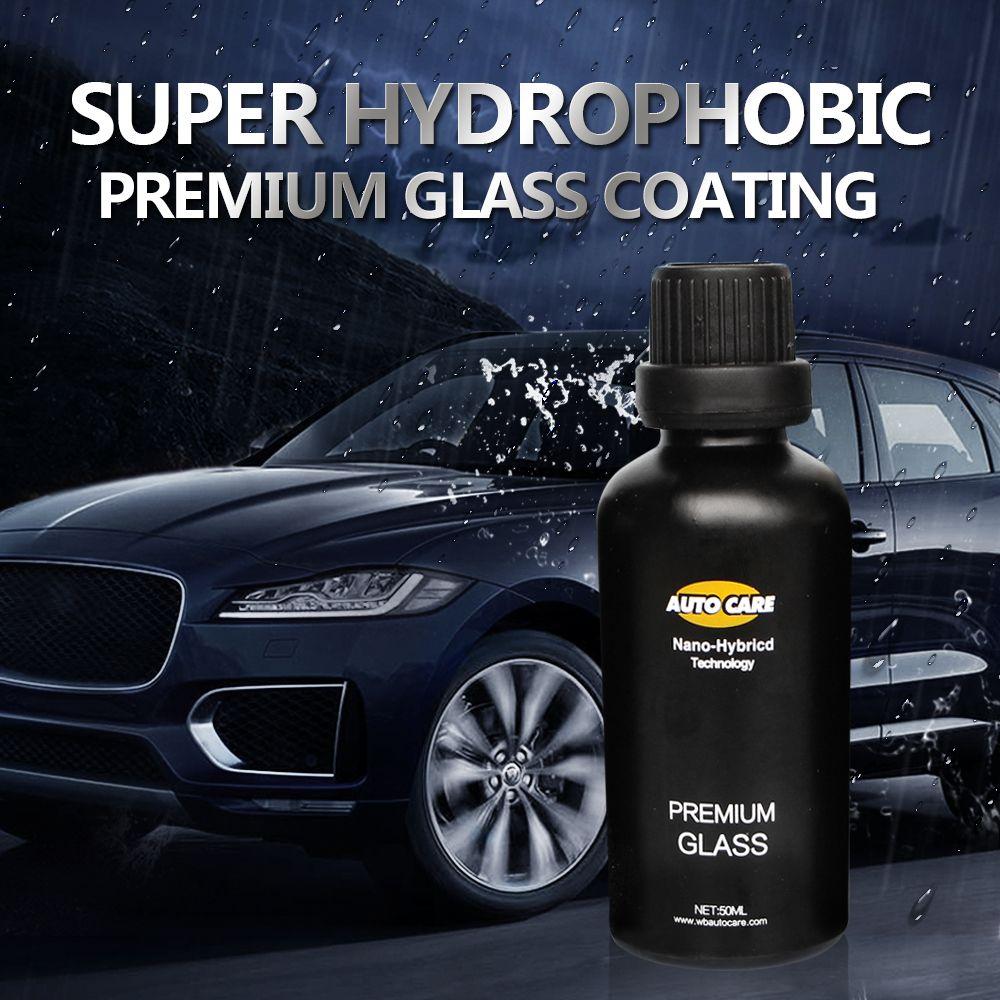 50ml 9h Auto Glass Crystal Coating Rain Water Repell High Gloss Liquid Glass Car Liquid Ceramic Coat Window Coating Nano Coating F Auto Glass Car Coating Glass