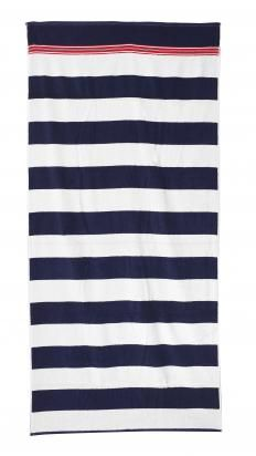 Bodrum Stripe Beach Towel 175 L Atitude Striped Beach Towel