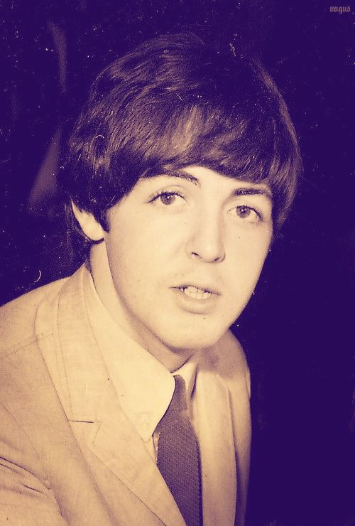 J Paul McCartney Eyelashes Oh Also Eyebrows In The Days Before Men Plucked Waxed Theirs