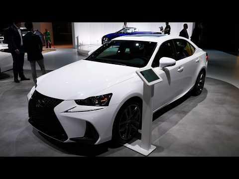 New 2020 Lexus IS 350 Sports Sedan Exterior & Interior