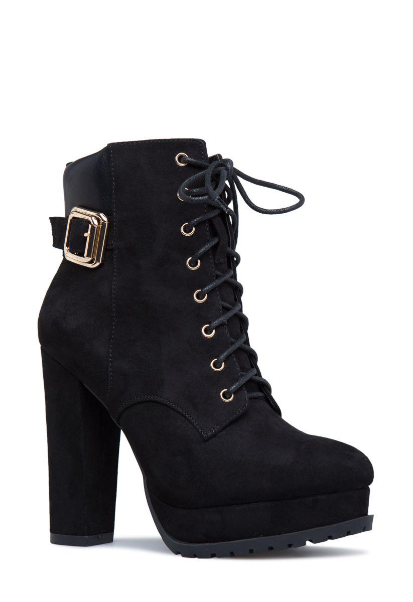 dc222ebbc4 ALIX PLATFORM HIKER BOOTIE - ShoeDazzle. ALIX PLATFORM HIKER BOOTIE -  ShoeDazzle Shoedazzle Boots, Combat Boots, Ankle ...