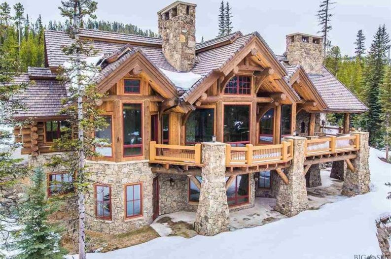 8 Of The Most Stunning Log Cabin Homes In America Log Cabin Homes Log Homes Timber House