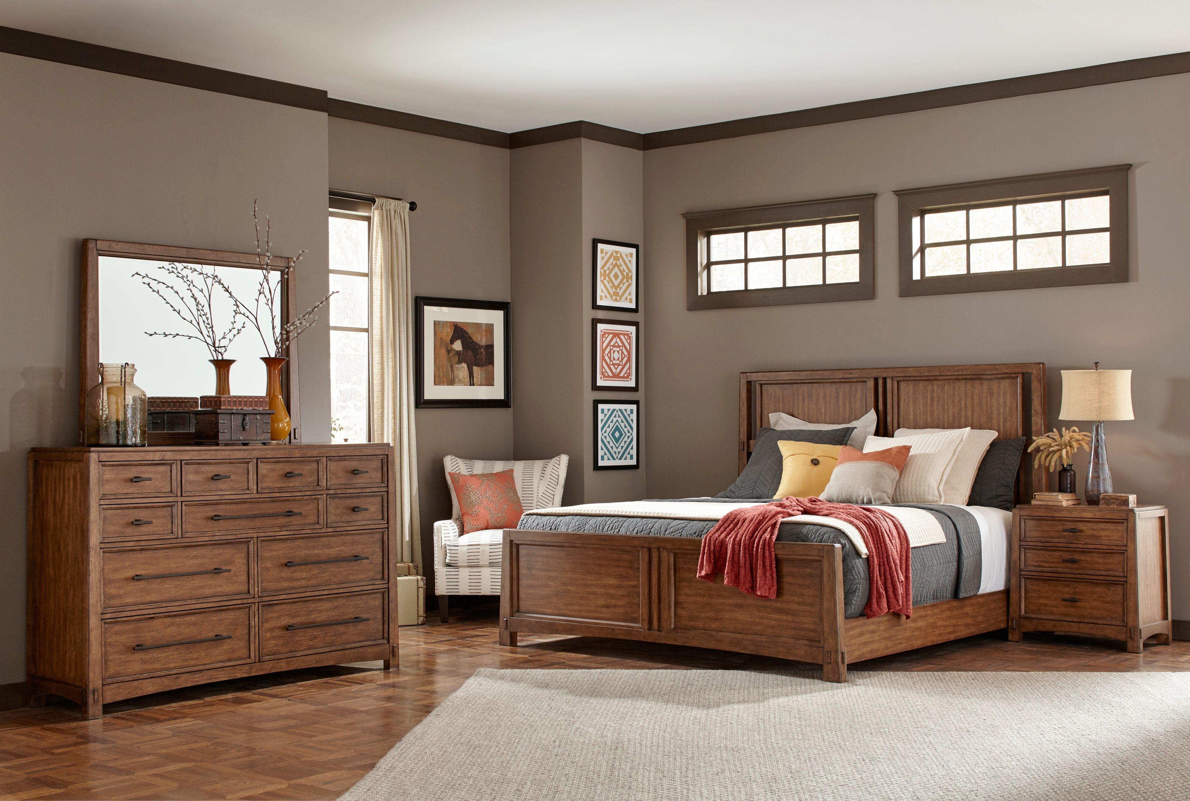 Winslow Park Panel Bedroom Set Broyhill Furniture Home