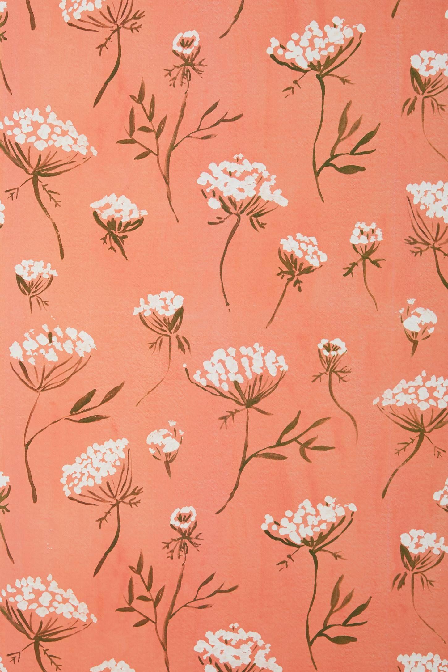 Juliet Meeks Queen's Lace Wallpaper