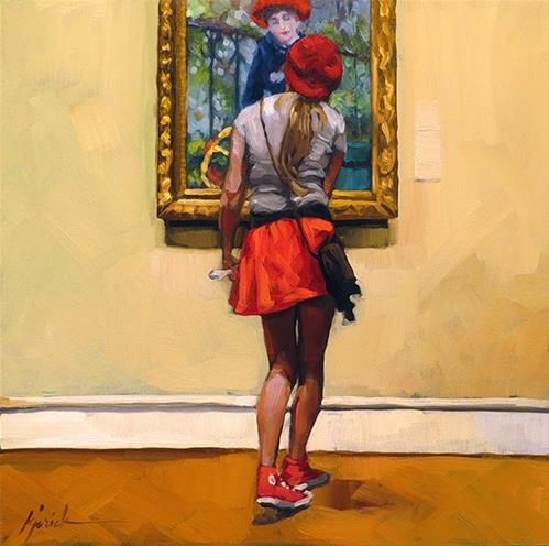 """Berettas"" - Original Fine Art for Sale - © Karin Jurick"