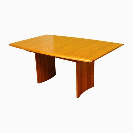 Großer Vintage Teak Tisch von Vejle Stole Mobelfabrik Jetzt - aktuelle trends esszimmer mobel modern