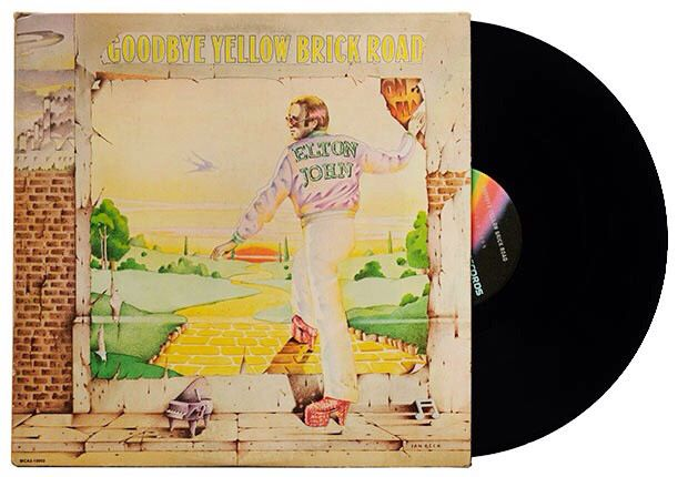 Pin By Linda Taylor On Memories Of The Past Goodbye Yellow Brick Road Vinyl Music