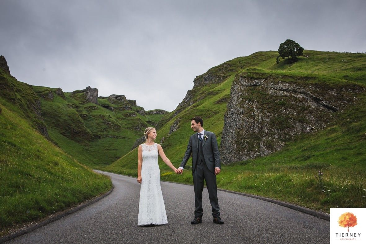 Losehill wedding winnats pass peak district groom