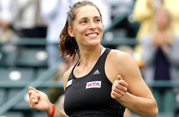 Andrea Petkovic wins Family Circle Cup tennis title