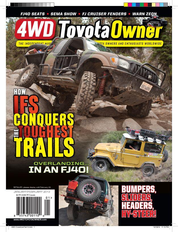 2017 Toyota 4runner Trd Pro For Sale >> 4WD Toyota Owner Magazine: Tacoma/Land Cruiser/4Runner/FJ Cruiser/Tundra/Everything Off-Road ...