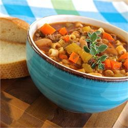 ***** MeMe's Pasta Fagioli- GA  (Try added a can of diced tomatoes)