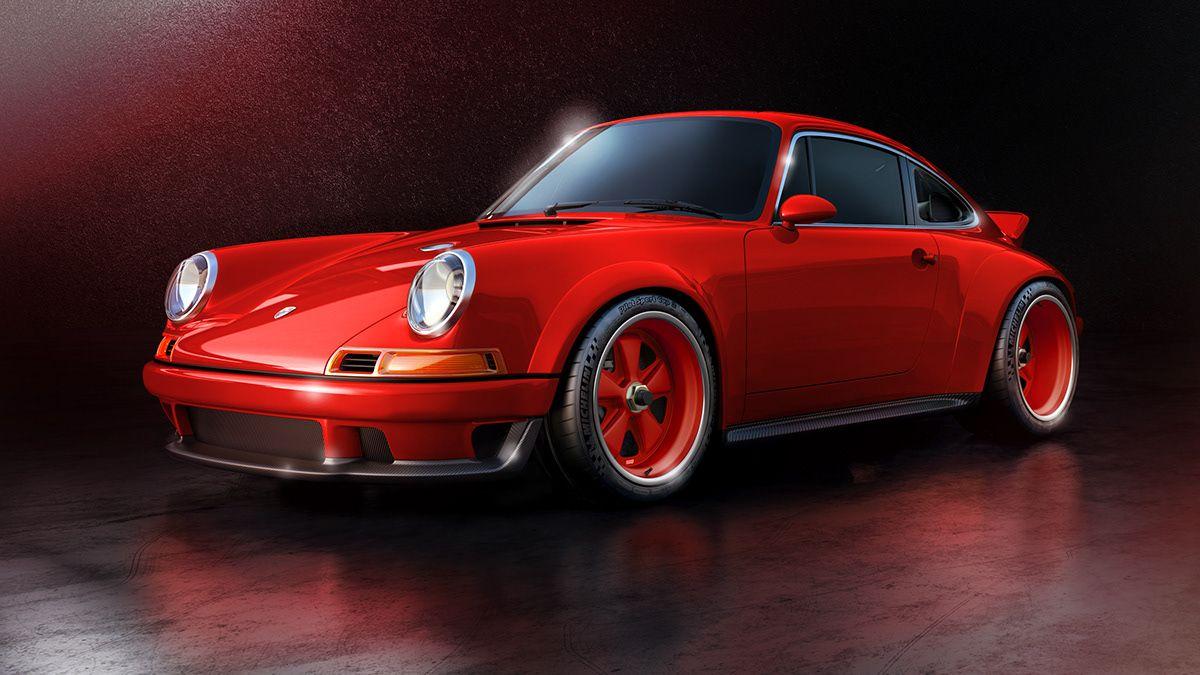 A Colors Story Singer Dls On Behance Singer Porsche Classic Porsche Retro Cars Porsche cars hd red behance images