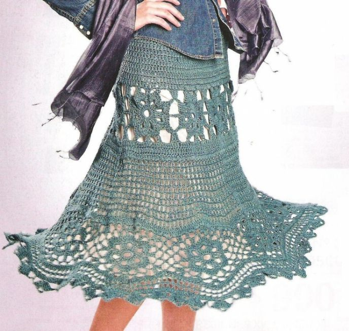 Free Crochet Skirt Patterns For Women - link broken (06/2015) | omat ...
