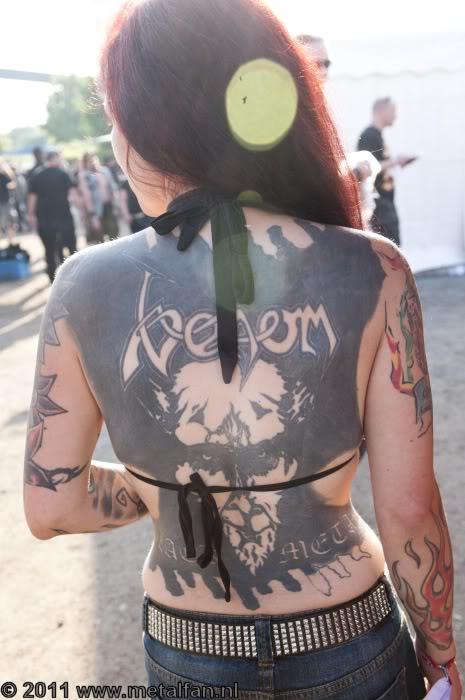 VenomThats a lot of black ink | Metal tattoo, Heavy