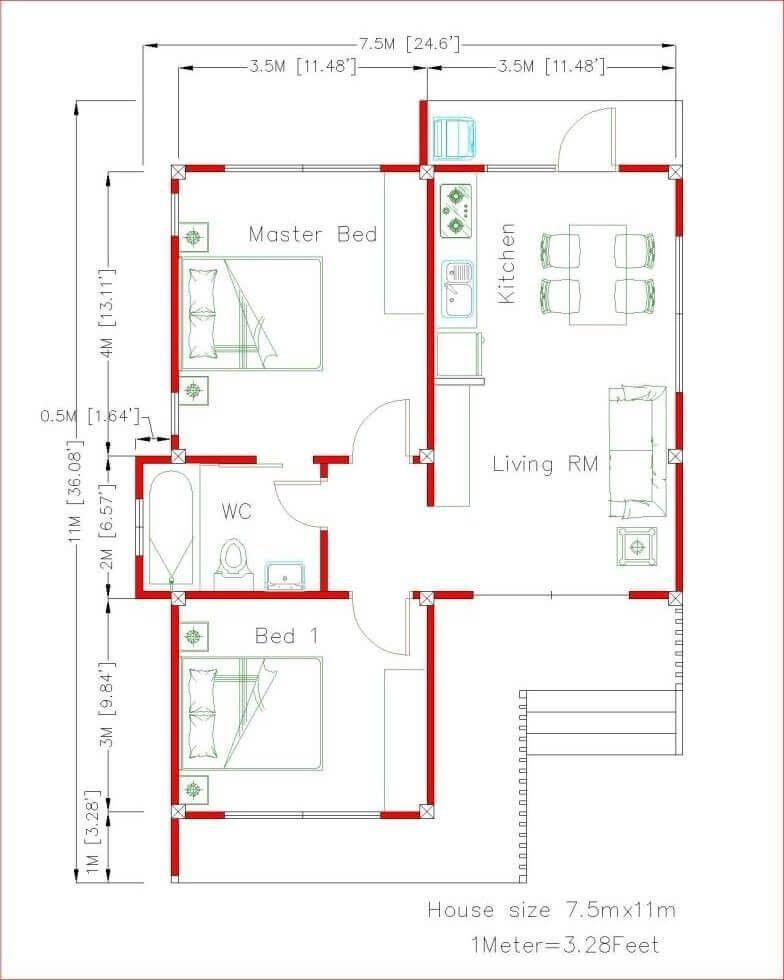 Beautiful 2d Floor Plan Ideas To See More Read It Small Modern Home Small House Plans Home Design Plans