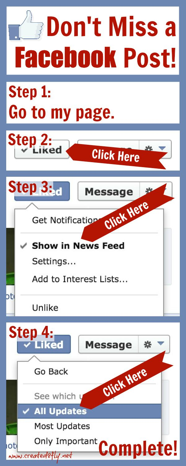 Make Sure Your Followers On Facebook Don T Miss One Of Your Posts