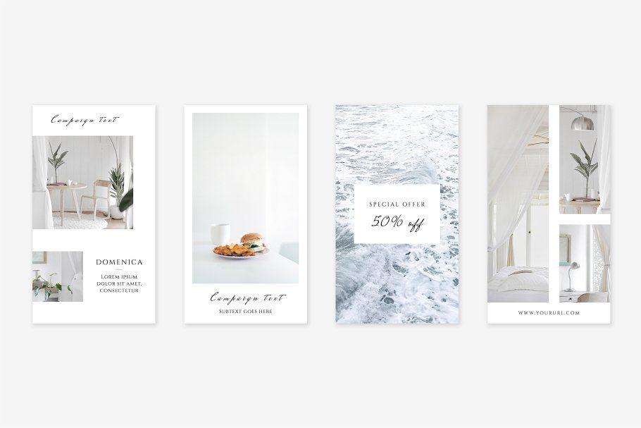 Fresh Instagram Stories Pack StoriesInstagramFreshPack Social - Fresh virtual museum template design