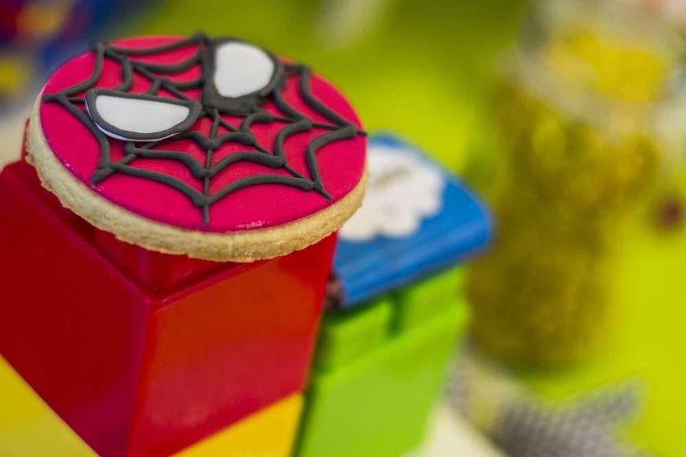 Lego superhéroes para Santy   CatchMyParty.com