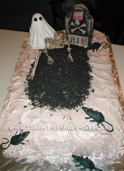 Coolest Graveyard Cake Ideas Photos and HowTo Tips Graveyard