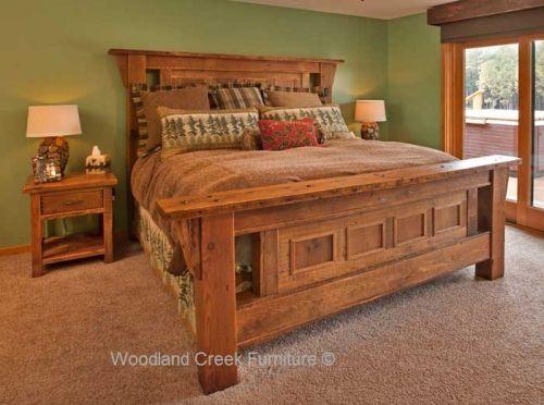 Rustic Bedroom Furniture See Hundreds of Unique Designs at Woodland Creek Furniture - barnwood bedroom furniture