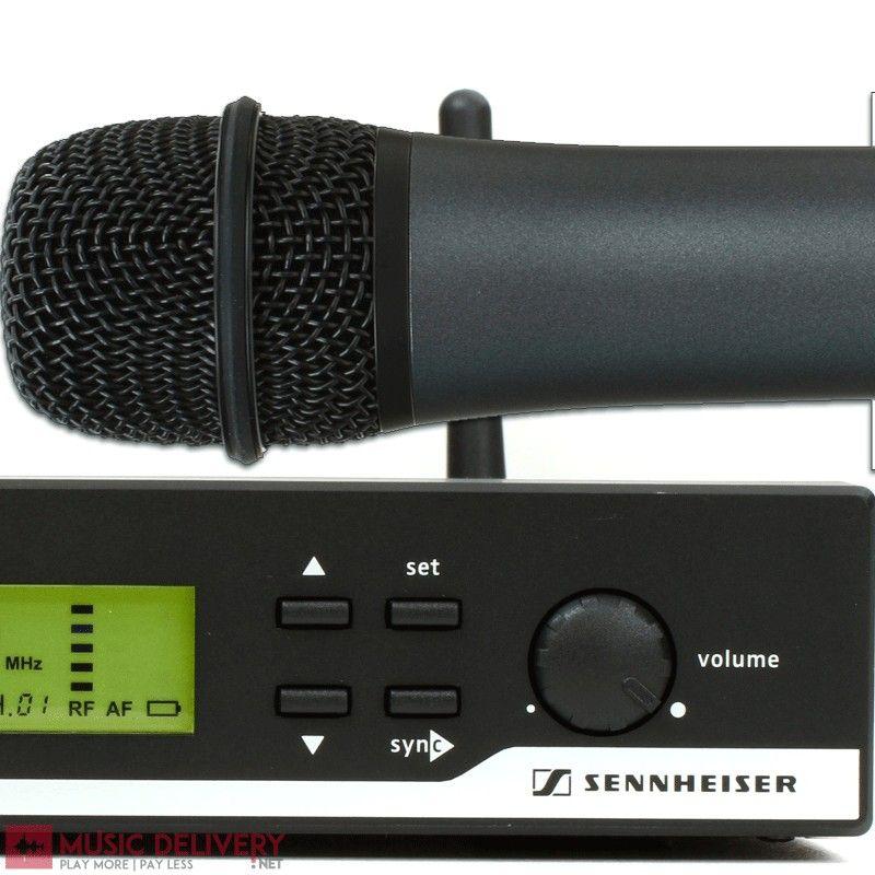 SENNHEISER XSW 35 WIRELESS VOCALS MICROPHONE # sennheiser #wireless microphone #e835