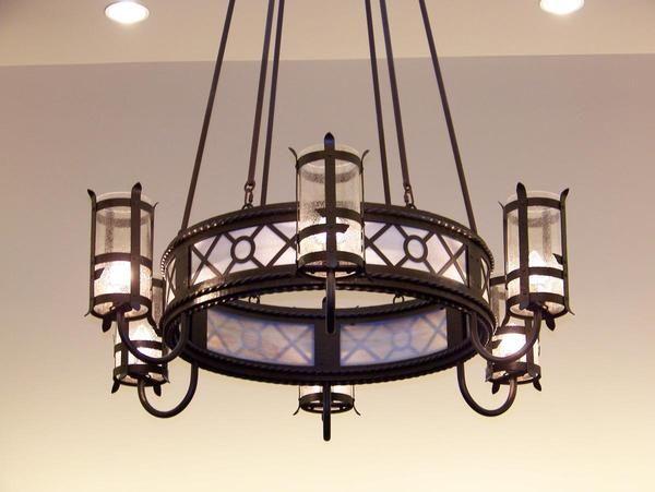 Lodge Lighting Fixtures Chandeliers