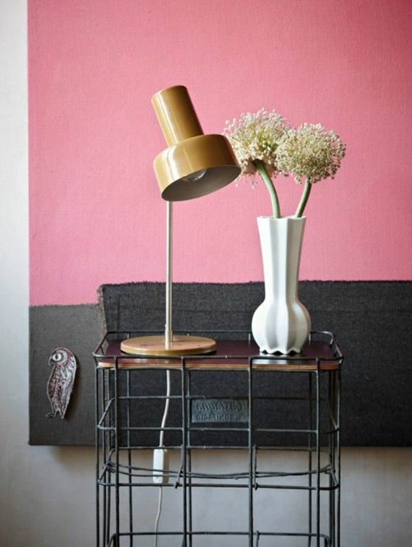 Colour walls rose as industrial paint style | Decor items & crafts 4 ...