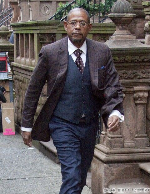 Exclusive... Forest Whitaker Films 'Black Nativity' In NYC