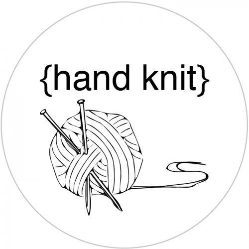 Hand Knit Tag Pdf Printable Identit Visuel Pinterest Paper