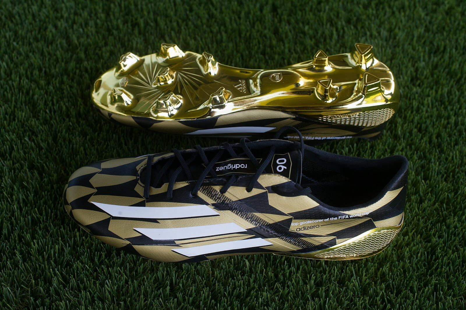 new product 48490 cf92f Adidas F50 Adizero Golden James Rodriguez
