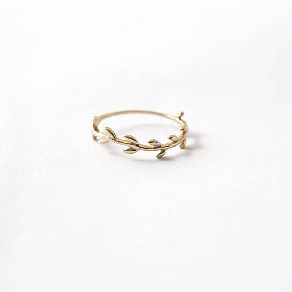 Nature Inspired Dainty Adjustable Ring Sterling Silver Delicate Leaf on Branch Band Ring Knuckle Ring Elegant Jewellery  B72