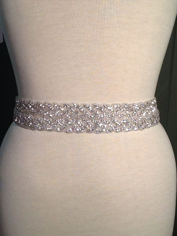 all around beading bridal belt wedding belt by mymothersdaughter60 25000