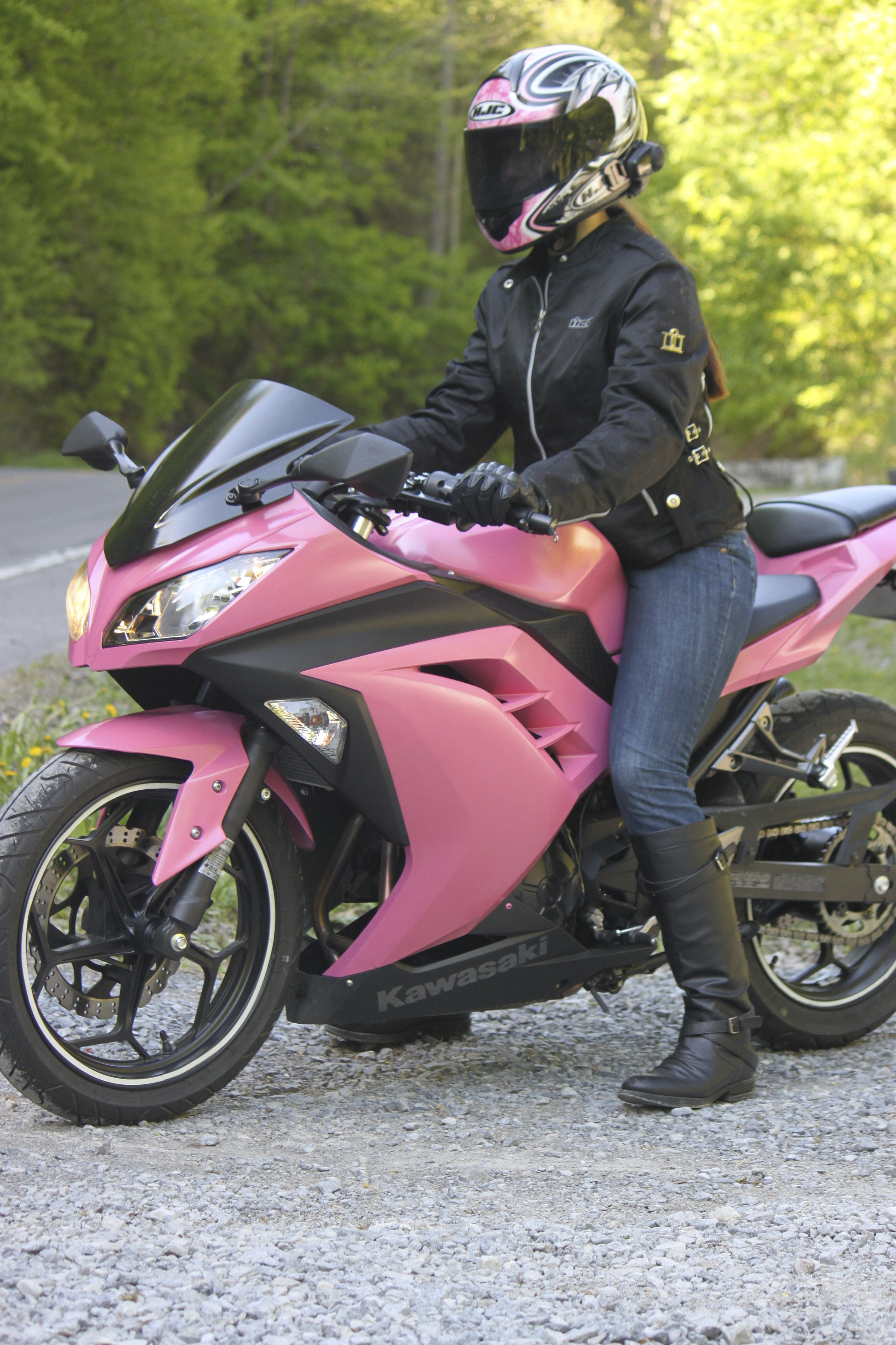 Pink ninja 300 holy shit!!! It comes in pink ... - photo#50