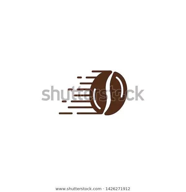 Fast Coffee Bean Fast Delivery Coffee Stock Vector Royalty Free 1426271912 Coffee Stock Coffee Beans Stock Vector