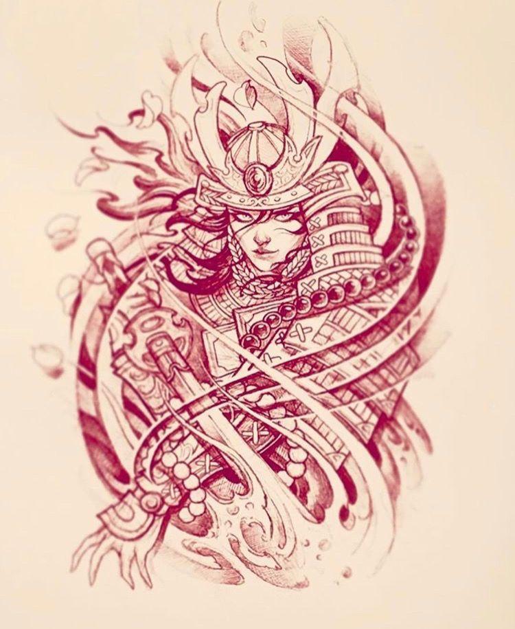 Pin By Arleth Marin On Cute Japanese Tattoo Samurai Tattoo