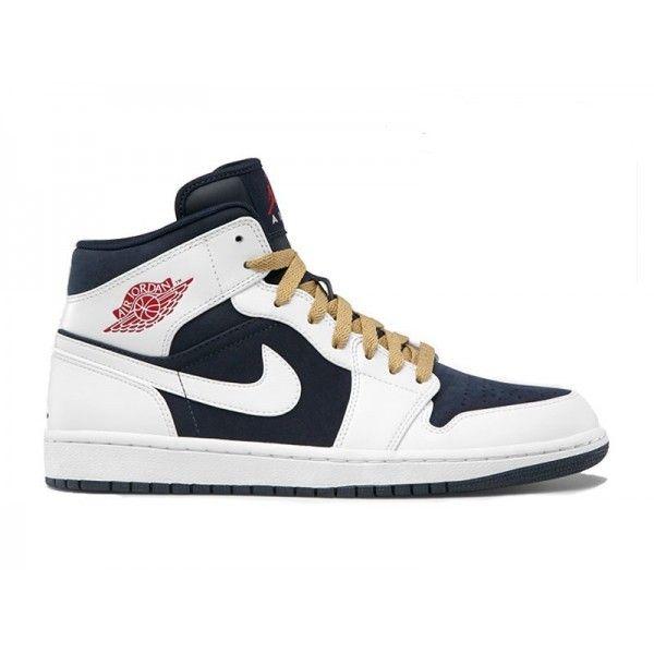 Air Jordan 1/AJ1 Phat - Baskets Nike Jordan Pas Cher Chaussures Pour Homme  Basket