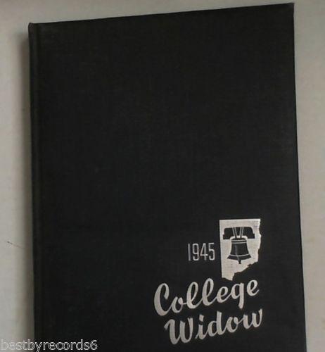 1945 Missouri College Yearbook: The College Widow  Columbia