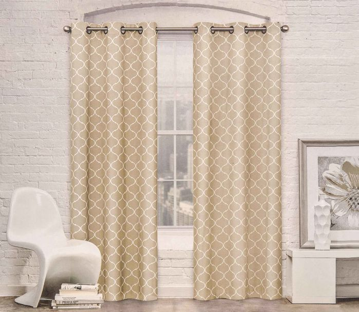 Moroccan Trellis Curtain Panel