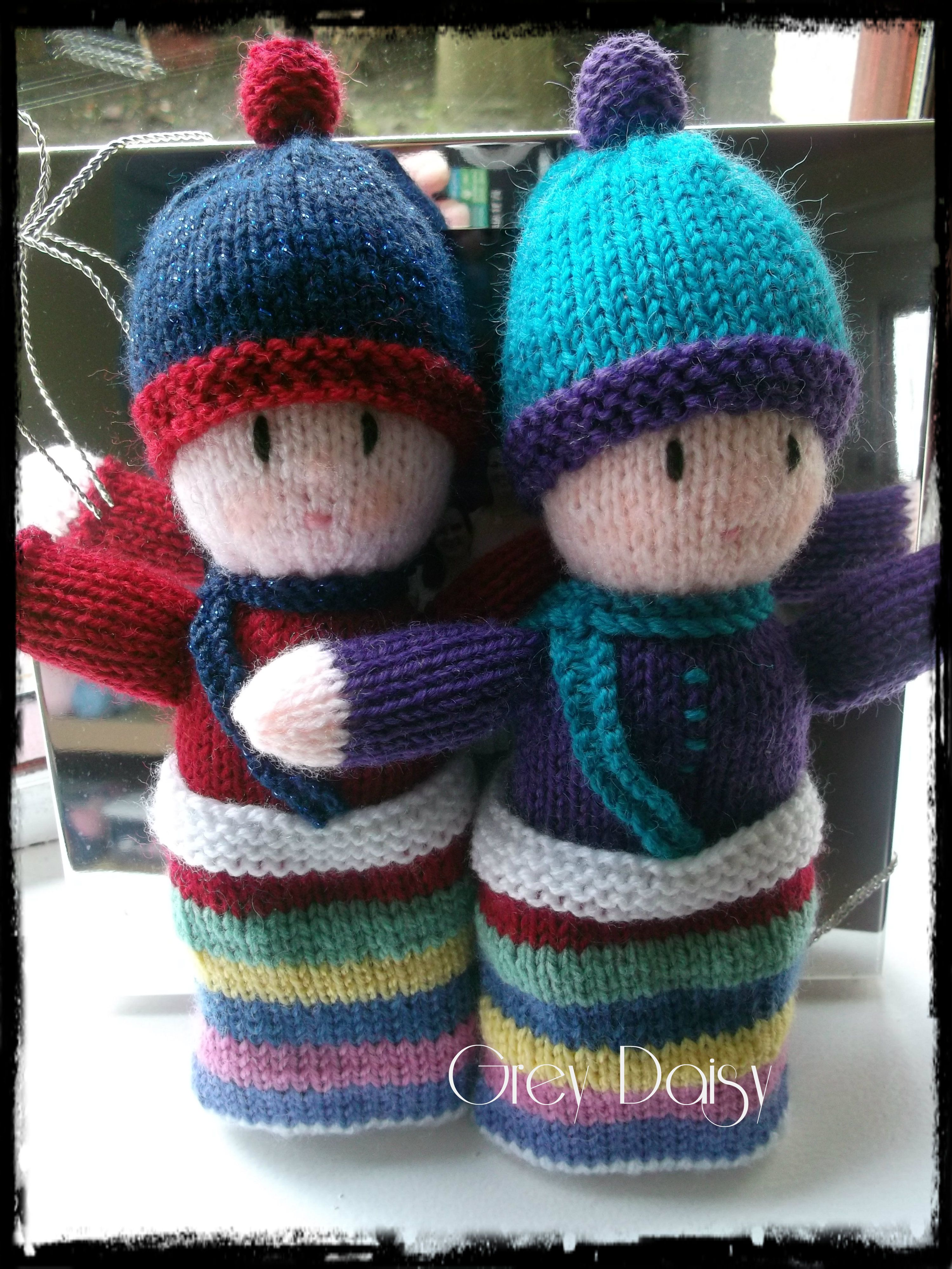 Rainbow Babies Pattern by Jean Greenhowe | Knitted doll ...