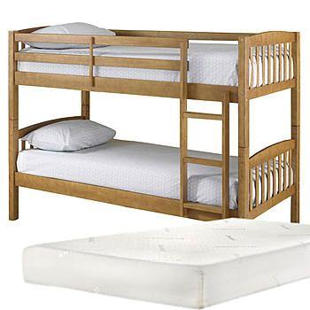 Essential Home Bunk Bed With Mattress Bundle Cheap Bunk Beds Bunk Beds Low Loft Beds