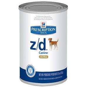 Hill S Prescription Diet Z D Canine Ultra Canned Food Hills Prescription Diet Dog Food Recipes