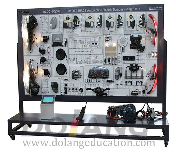 Toyota hiace automotive electrical appliance training board toyota hiace automotive electrical appliance training board publicscrutiny Choice Image